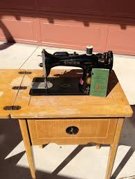 Singer Sewing Machine Cabinets by Vintage 1948 Electric Singer Sewing Machine And Sewing Table 15 91