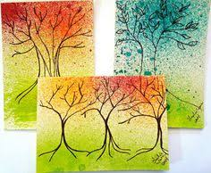 painted cards for sale 2 bright painted cards with painted envelopes on sale