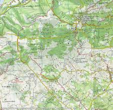Map Italy by Hiking Map 54 Gorizia Italy Tabacco U2013 Mapscompany