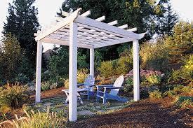 Privacy Trellis Ideas by Trellis U0026 Arbor Ideas Sunset