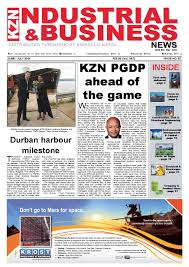 kzn industrial u0026 business news issue 87 by the media u0026 events