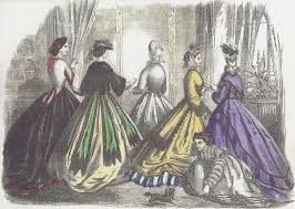 godey s fashions august 7th 1859 and godey s november 1864 america s
