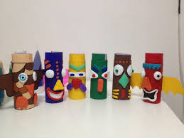 thanksgiving toilet paper roll crafts paper roll totem craft canada unit pinterest totems and craft