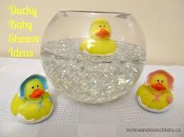 baby shower ideas ducky baby shower ideas munchkins