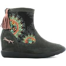 womens boots outlet desigual ankle boots boots outlet desigual ankle