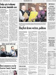 times leader 04 20 2013 sanitary sewer blog