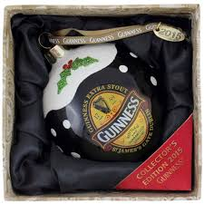 guinness guinness 2015 collectors bauble ornament from