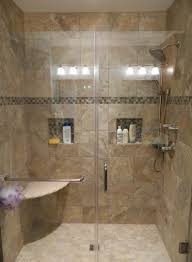Bathroom Ceramic Tile by Ceramic Bathroom Wall Tile Brown Ceramic Tiled Backsplash Shower