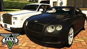 bentley cars inside gta v luxury car mods bentley continental gt 2012 u0026 rolls royce