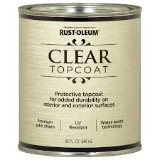 shop rust oleum metallic accents clear gloss metallic latex