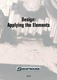 Design Applying The Elements | design applying the elements video vhs dvd cc