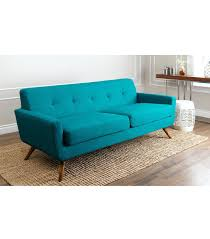 Teal Couch Slipcover Teal Sofa Sleeper Leather Bed Blue Slipcover 7357 Gallery