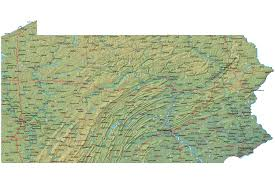 Pennsylvania State Map by There Will Be No Recount In Pennsylvania Jill Stein Perpetrating