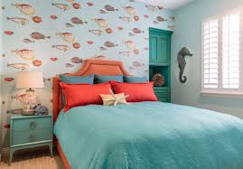 wall theme 49 beautiful and sea themed bedroom designs digsdigs