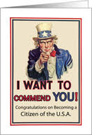 citizenship congratulations card congratulations on becoming a u s citizen general cards from