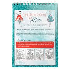 amazon com inspirational coloring for mom hardcover christian