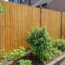 grange standard feather edge fence panel garden street