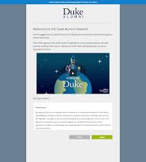 alumni network software duke alumni release notes