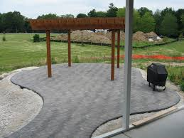 Patio Concrete Pavers by Exterior Design Interesting Outdoor Fireplace Design With