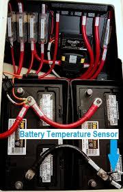 battery temperature sensor location photo compass marine how to