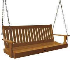 wooden porch swing with bedswing bench daybed hanging bed porch