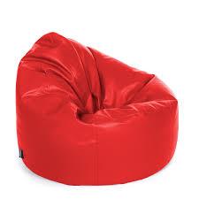 faux leather bean bag chair