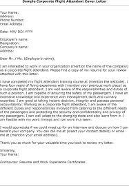 Sample Resume For Flight Attendant by Flight Attendant Cover Letter Sample Resume Genius With Flight