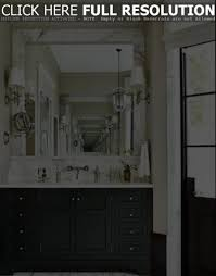 Bathroom Mirrors Houzz Marble Framed Bathroom Mirrors With Sconces And Pendant