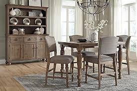 the tanshire counter height dining room table from ashley counter