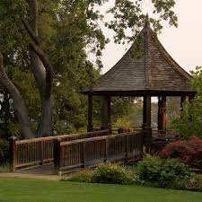 backyard gazebo landscape traditional with bushes covered patio
