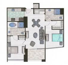 Panorama Towers Las Vegas Floor Plans A 2 Bedroom Luxury High Rise Condo On The Vegas Strip For 499k
