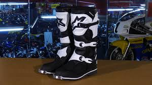 alpine motocross boots alpinestars tech 1 motorcycle boots review youtube