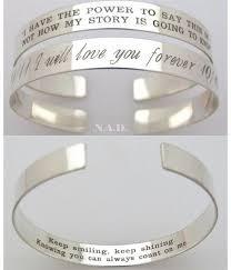 custom silver bracelets engraved bracelets for unique sound wave bracelet custom