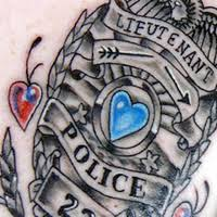 police badge number tattoo pictures to pin on pinterest tattooskid