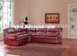 living room leather sectional sofas with chaise recliners blue