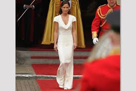 royal wedding pippa u0027s dress upstages kate u2013 blog by jessie holeva