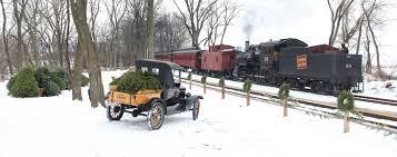 christmas tree train strasburg rail road