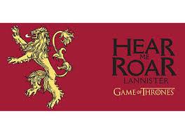 house lannister house lannister hear me roar official game of thrones mug redwolf