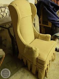 Reupholster Egg Chair Cost To Re Upholster A Wing Chair