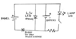 component series lighting circuit ldr diagram build