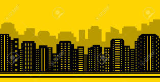 city backdrop yellow city backdrop industrial town background with