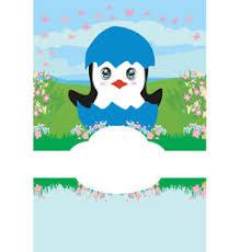 penguin baby shower baby penguin vector images 1 000
