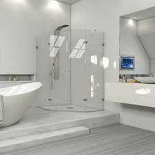 vigo shower door installation vigo gemini 47 625 in x 78 75 in frameless neo angle shower