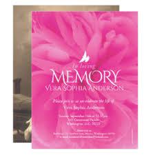 Funeral Service Invitation Funeral Service Invitations U0026 Announcements Zazzle Co Nz