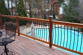 deck rail planters lowes decks home u0026 gardens geek