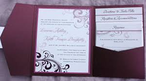 wedding invitation pockets how to make wedding invitations