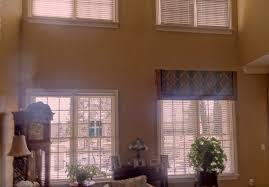 window treatments for high windows superb window treatment ideas
