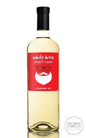 christmas wine christmas wine labels white hair don t care studio b labels