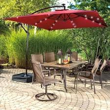solar lights for outdoor umbrella rectangular patio umbrella with