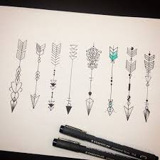 Positive Tattoos With Meanings Collection Of 25 Arrow Designs